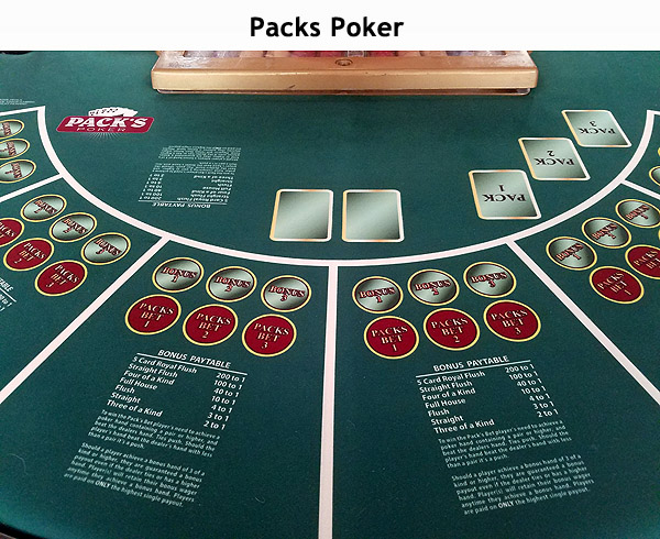 Packs Poker at Northwoods Casino, LLC