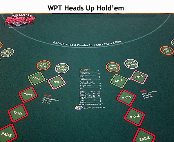 WPT Heads Up Hold'em at Northwoods Casino, LLC